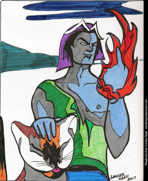 Shadowlord by Loretta Nash