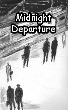 "MIDNIGHT DEPARTURE - Our tall, dark, & vigilant hero ""Ogburn"" stars in our FIRST webcomic! This three page short is a prologue to the events in our full length comic ""Midnight Train."" Illustrated by Mike Jenkins"